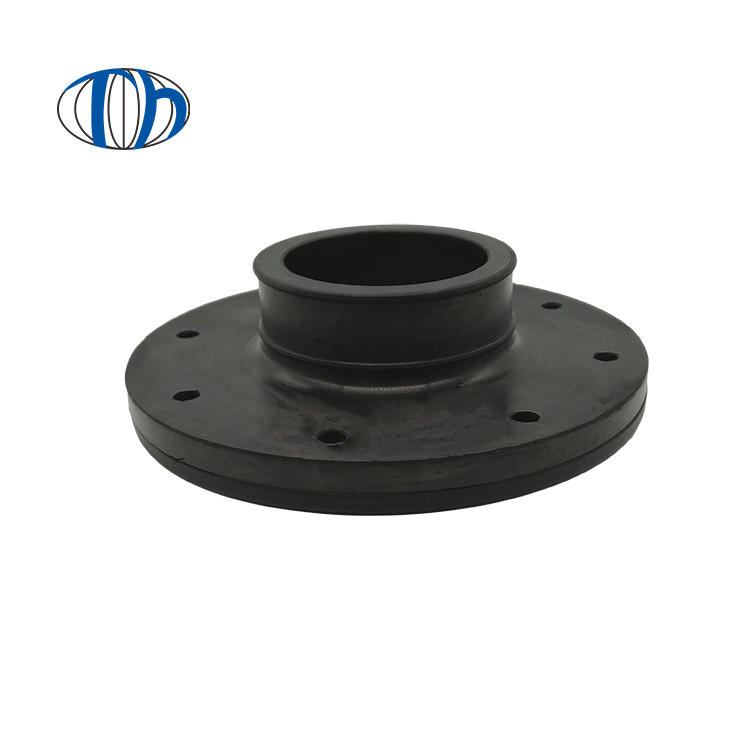 High-quality customized oil-resistant nitrile rubber(NBR) flange cover wear-resistant rubber joint flange