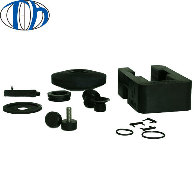 70 hardness NR railway lift rubber pad Nonstandard Solid Hard Rubber Block shockproof bumpers