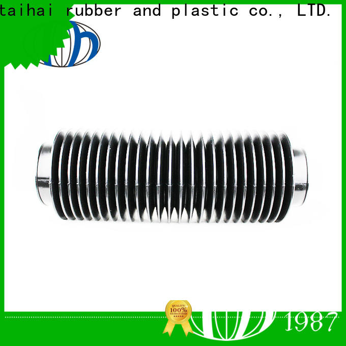corrugated rubber cover dust jacket for oil press car steering valve