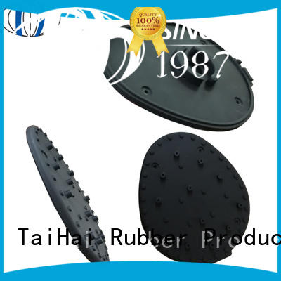 black rubber bumper pads & neoprene rubber strips