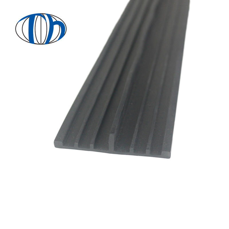 Supporting aluminum profile  soft  shockproof PVC  edge strip