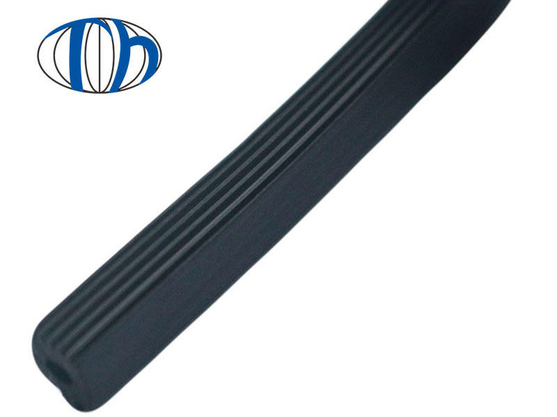 Soundproof EPDM foam rubber Strip for Steel-plastic Doors and Windows