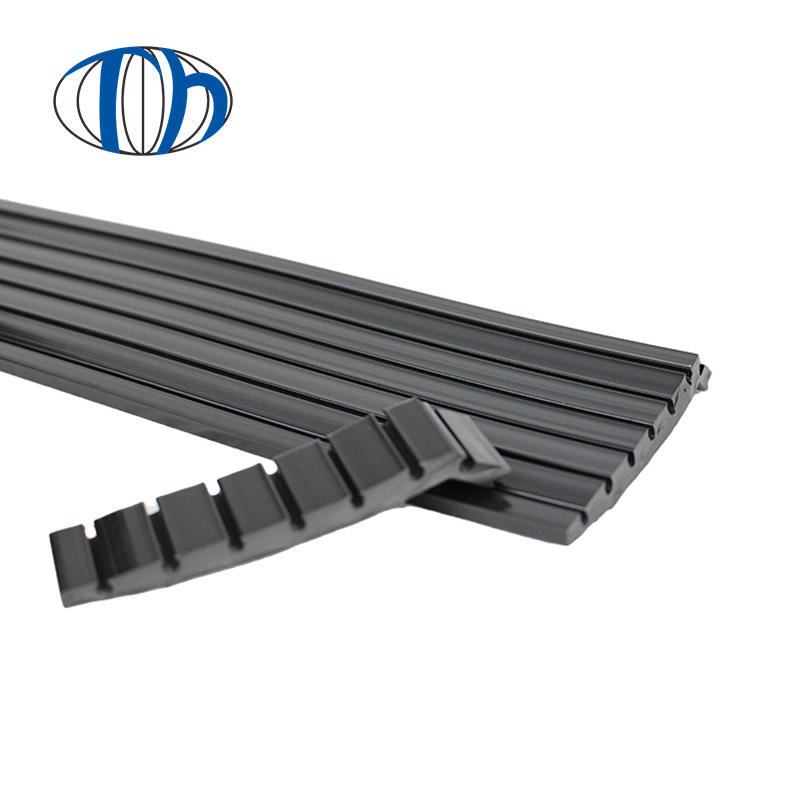 Anti-static  stairs PVC wrap angle ,step anti-skid strip