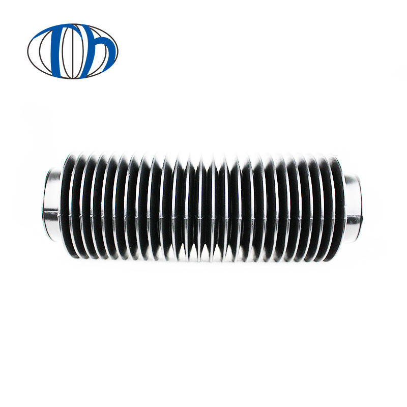 Cylindric telescopic cylinder rubber dust cover,rubber corrugated telescopic dust cover