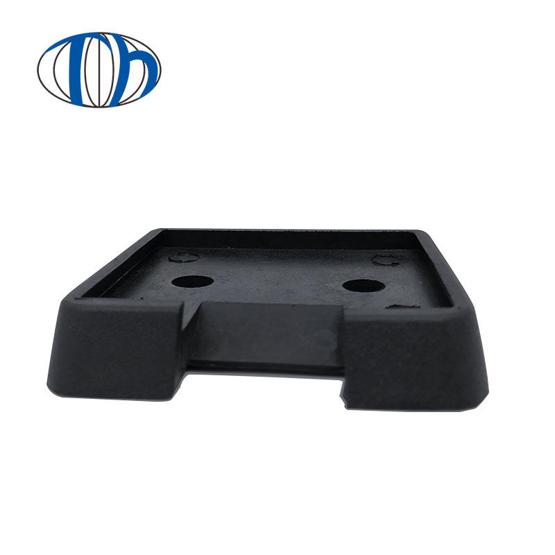 Factory price shockproof shaped rubber pad mechanical foot pad