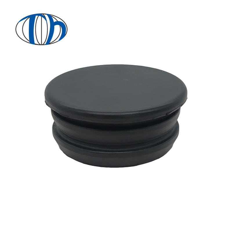 Wholesale round sealing rubber hose plug for car,furniture metal pipe rubber tube plug