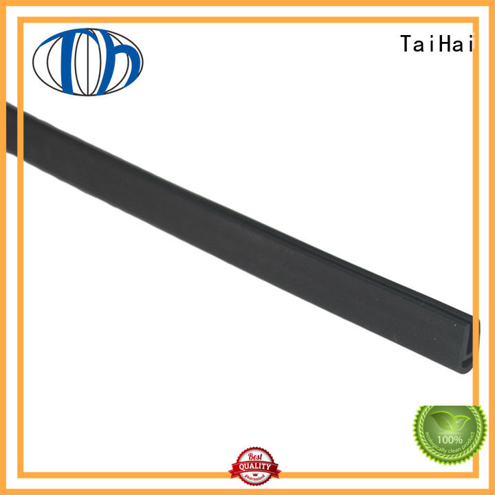 TaiHai milk colour rubber weather stripping manufacturer for food equipment machinery