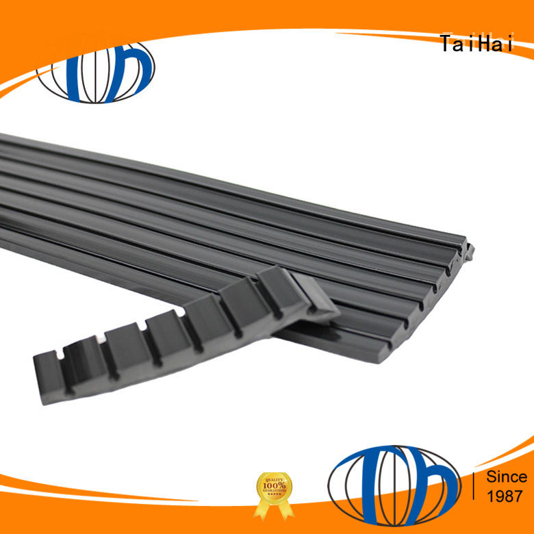 groove rubber protective strips supplier for food equipment machinery